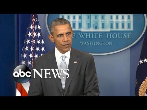President Obama Remarks on Paris Terror Attacks