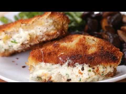 Garlic Herb-Stuffed Pork Chops