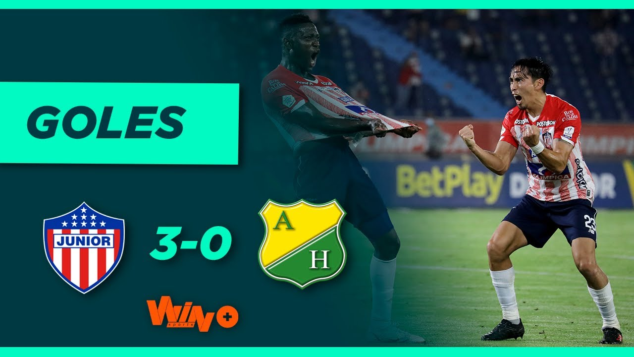 Junior vs. Huila (3-0)   Liga BetPlay Dimayor 2021-II   Fecha 8