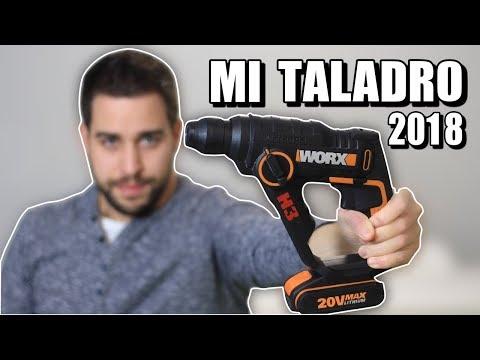 Worx H3 WX390 20V | Mi Mejor TALADRO 2018 | Mejor que Bosch Uneo Maxx | Review en Español