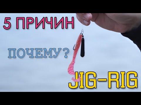 5 ПРИЧИН ПОЧЕМУ ДЖИГ-РИГ! Преимущества оснастки JIG-RIG