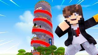 Minecraft: O NOVO PARKOUR EM ESPIRAL  ‹ JUAUM ›