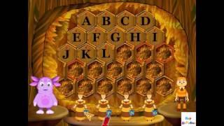 Развивающий Мультик Лунтик Учим английский Алфавит