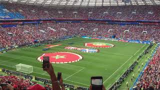 FIFA WORLD CUP RUSSIA 2018 / Portugal vs. Morocco players' entrance