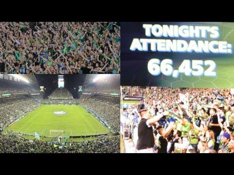 66,452 - Near-Record Crowd For Sounders-Timbers At CenturyLink Field