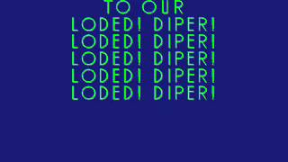 Diary Of A Wimpy Kid Rodrick Rules - Loded Diper - Exploded Diaper (Lyrics)