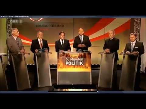 60 Minuten Politik - NAbg. Rainer Widmann - Thema: Abzug vom Golan, SPÖVP Heeresvolksbefragung