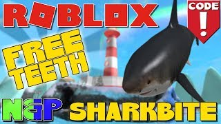 🦈NEW CODE 150 FREE TEETH FÜR SHARKBITE - ROBLOX CODE