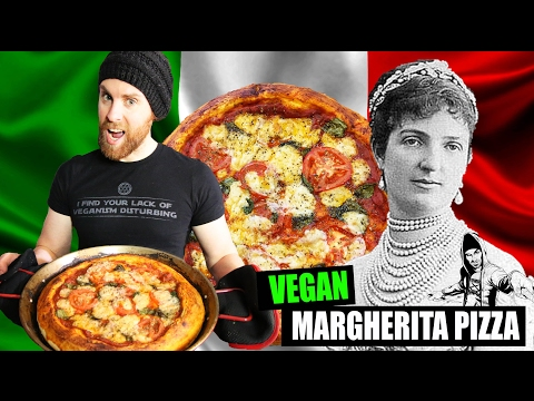 Margherita Vegan Pizza Recipe
