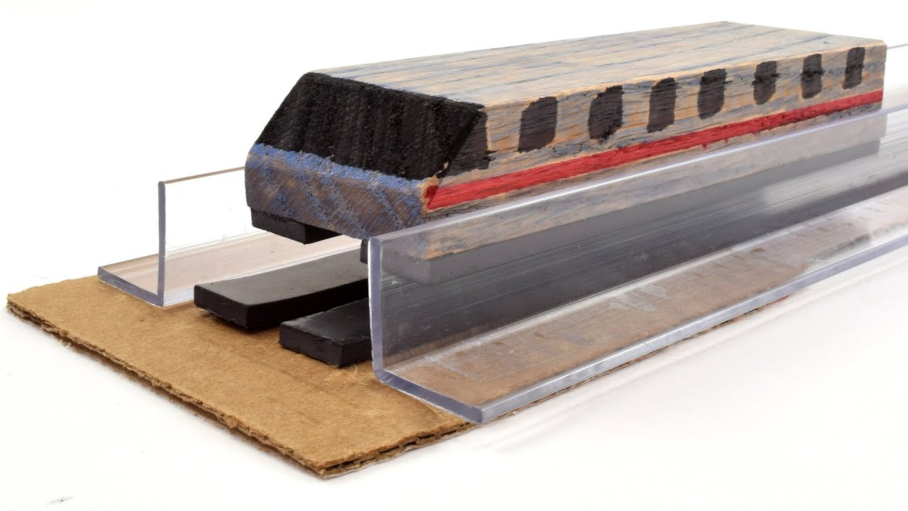 DIY MAGLEV TRAIN TOY EXPERIMENTAL PROJECT KIT