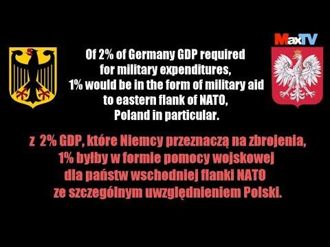 Plan Maxa Kolonko na reparacje wojenne od Niemiec - fragm. programu MaxTVGO