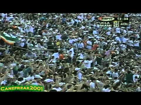 1998 Miami Hurricanes vs Ucla Bruins Highlights