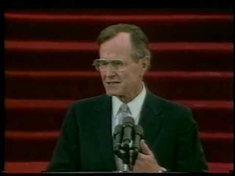 President George H. W. Bush's Inauguration Address