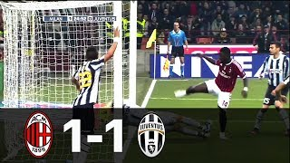 Milan vs Juventus 1-1 Serie A 2011/2012 - All Goals & Full Highlights