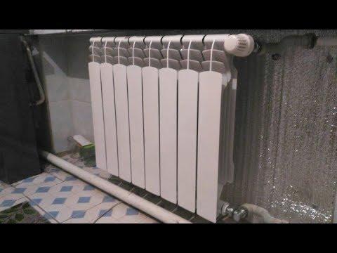 Как поставить радиаторы и термоголовки