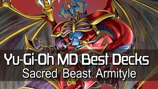 Yugioh MD (Millennium Duels) Best Decks: Sacred Beast Armityle OTK