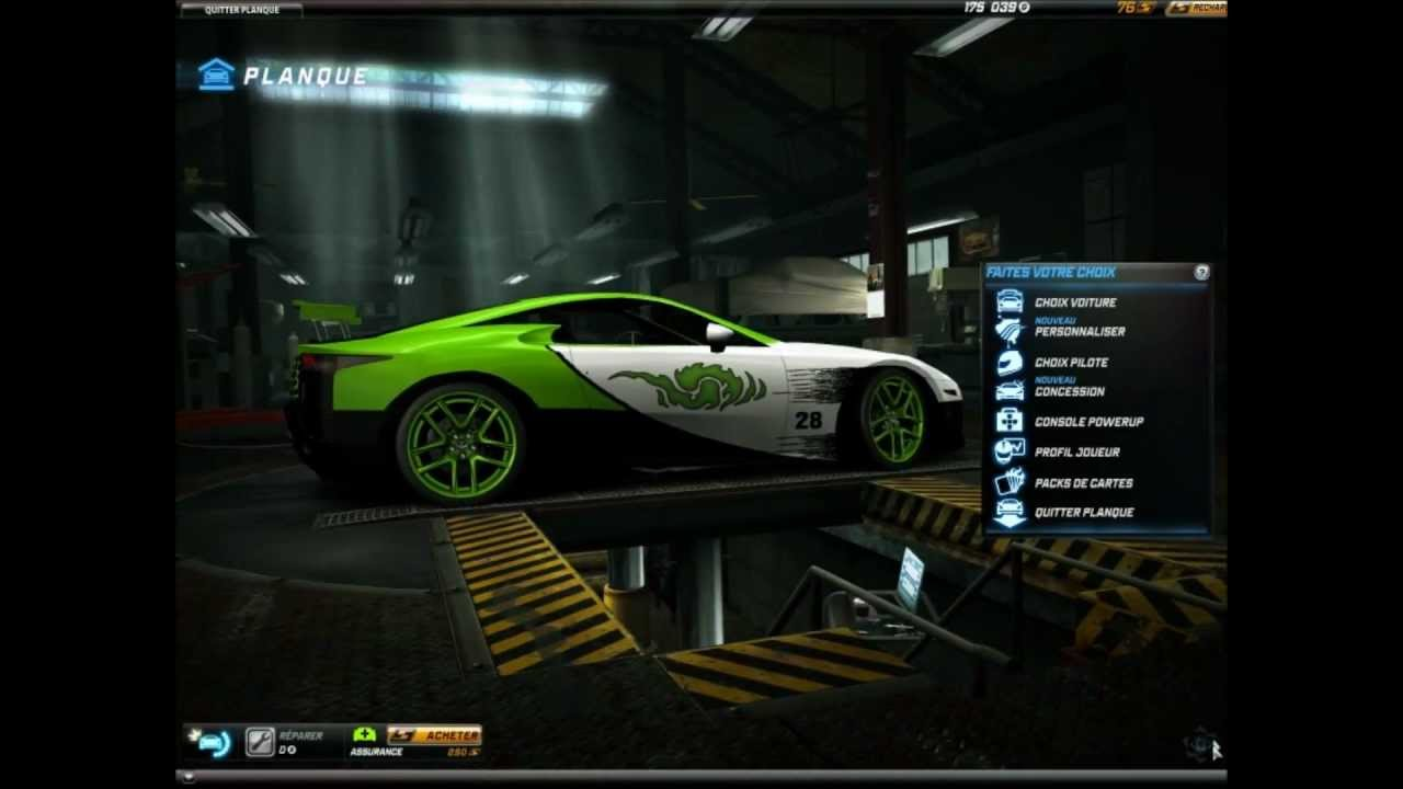 Lexus LFA - Green Tuning (NFS World) - YouTube