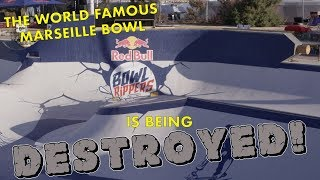 World Famous Marseille Bowl Is Being Destroyed