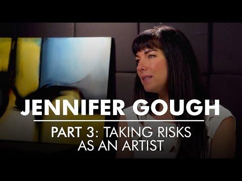 Part 3: Taking Risks As An Artist | Artist Entrepreneur Jennifer Gough | AQ's Blog & Grill