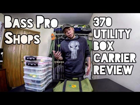 Bass Pro Shops 370 Utility Box Carrier Review