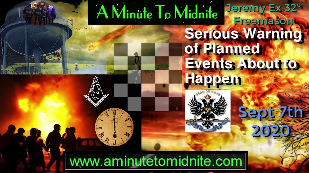 Serious Warning of Planned Events About to Happen - Jeremy Ex 32° Mason