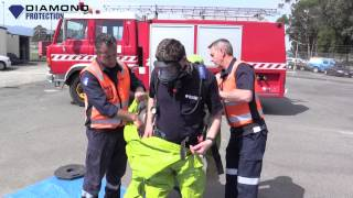 How to Operate a Breathing Apparatus - Donning a Gas Suit