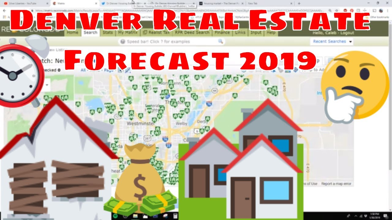 Denver Real Estate Market January 2019 - Is a bubble looming