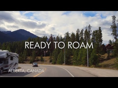 Ready to Roam -  Jasper to Edmonton Slow TV | Alberta, Canada