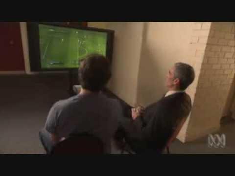 Craig Foster plays FIFA 09
