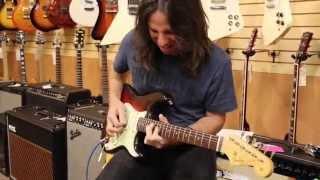 Guitarist Dave Scott stops by Norman's Rare Guitars