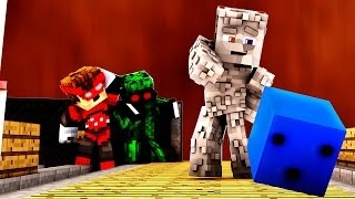 VERSTECKEN im BOWLING CENTER mit ALPHASTEIN | MINECRAFT HIDE AND SEEK