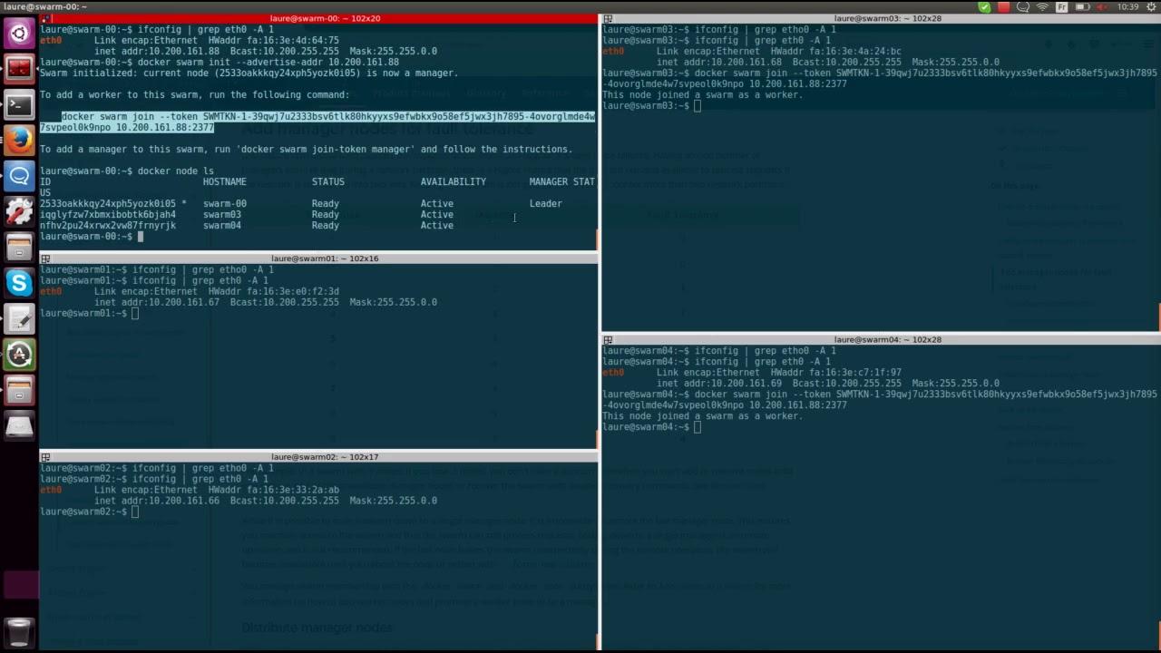 How to set up a Docker Swarm cluster   Zenko