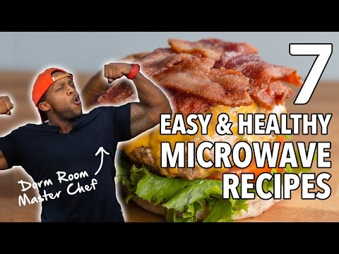 College Dorm MasterChef - 7 Easy, Healthy Microwave Recipes  / 7 Recetas Cocinadas en el Microondas