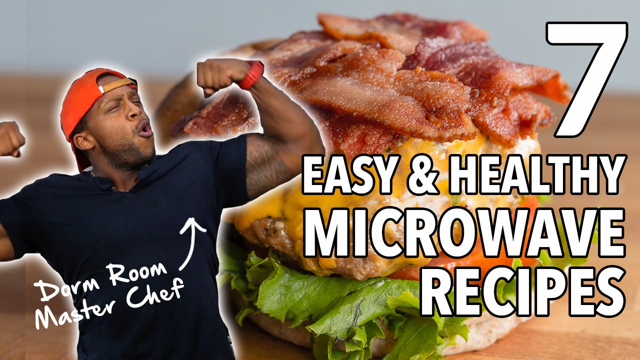 7 easy healthy microwave recipes