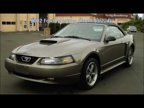 10 Best Used Cars Under 4000 Youtube