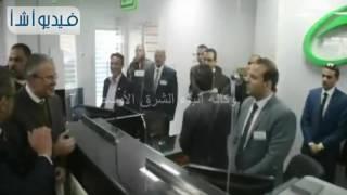 بالفيديو: محافظ المنيا ورئيس هيئة البريد يفتتحان أعمال تطوير مكتب مجمع المصالح الحكومية