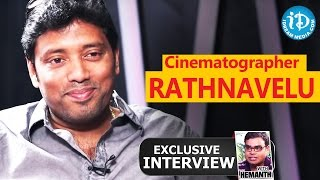 Cinematographer Rathnavelu Exclusive Interview || Talking Movies with iDream #40
