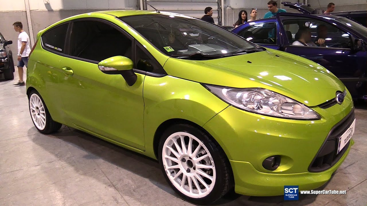 ford fiesta exterior and interior walkaround 2016 tuning show sofia youtube. Black Bedroom Furniture Sets. Home Design Ideas