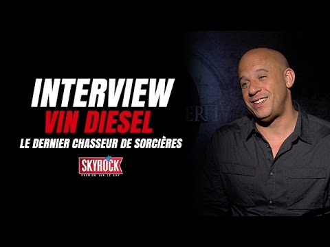 Interview Vin Diesel - Le dernier chasseur de sorcières [ Film Skyrock ] streaming vf