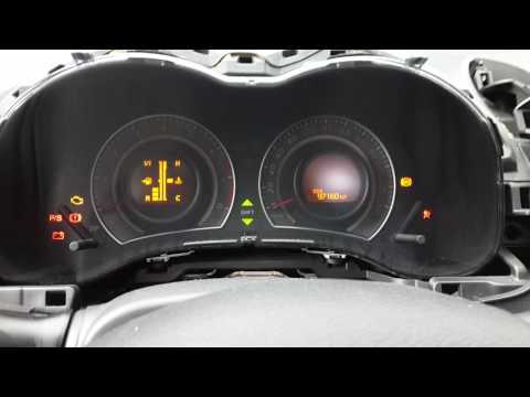 Тойота Королла желтая подсветка шкал перед заменой