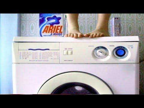 Почему стиральная машина прыгает при отжиме? Что делать и как исправить?