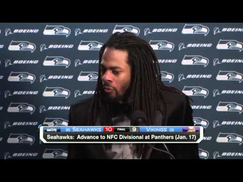 Richard Sherman on the Cold Weather: