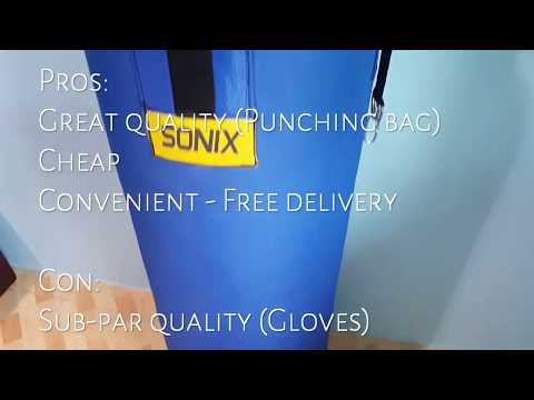 LAZADA UNBOX! Best Lazada Deal- Punching Bag + Boxing Gloves