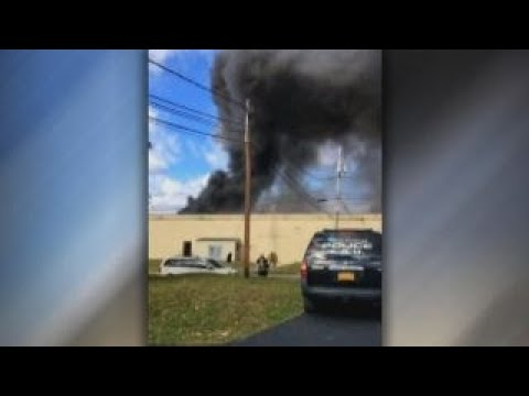 Major fire at New York cosmetics factory