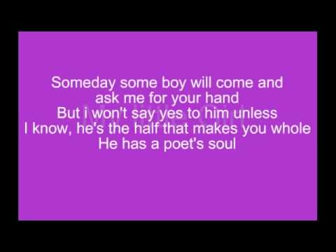 My Little Girl - Tim McGraw Lyrics