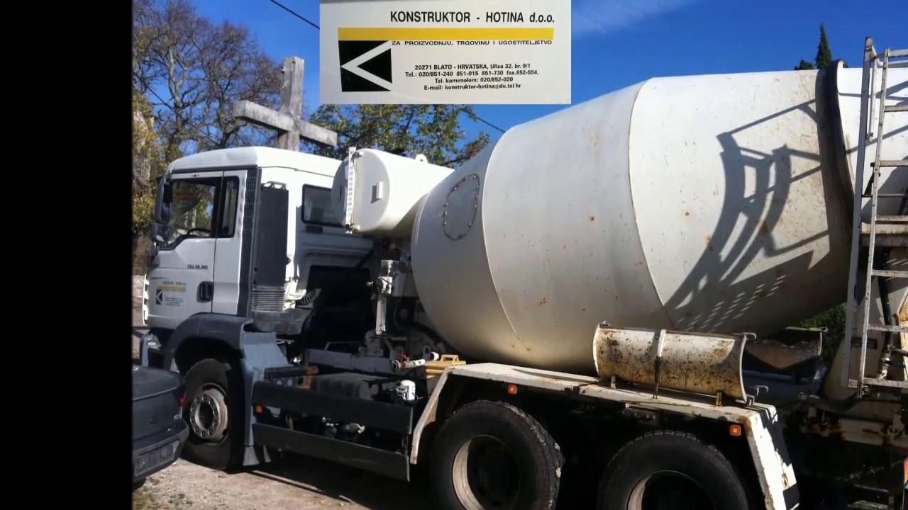 KONSTRUKTOR HOTINA d.o.o. - Proizvođač građevinskog materijala i betona - Blato - Korčula