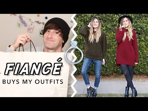 FIANCÉ buys my outfits | HelloImLana
