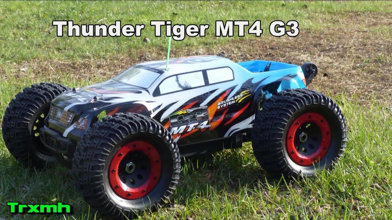 Thunder tiger mt4 g3 manual