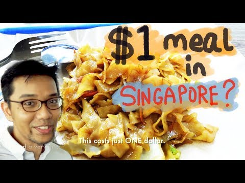 One Dollar Meal in Singapore? Really?