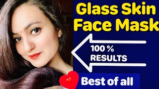 My Secret Korean Inspired Face Mask For Brighter Younger Skin Visible GLASS SKIN in 1 Wash